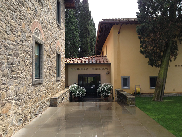 The Villa I Tatti library in Florence