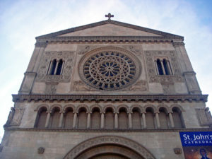 A Romanesque gem in West Adams, St. John&#039;s Episcopal Cathedral opened its doors in 1925. Photo: Kansas Sebastian, CC BY-NC-ND 2.0