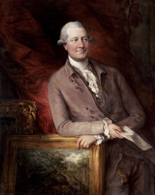 Portrait of James Christie / Thomas Gainsborough
