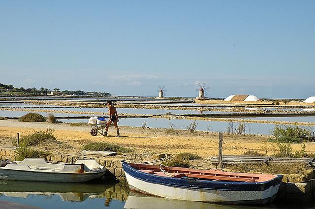 Modern-day Mozia, Sicily