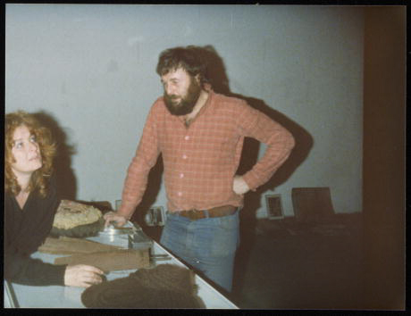 Harald Szeemann and Ingeborg Lüscher in Switzerland, 1979