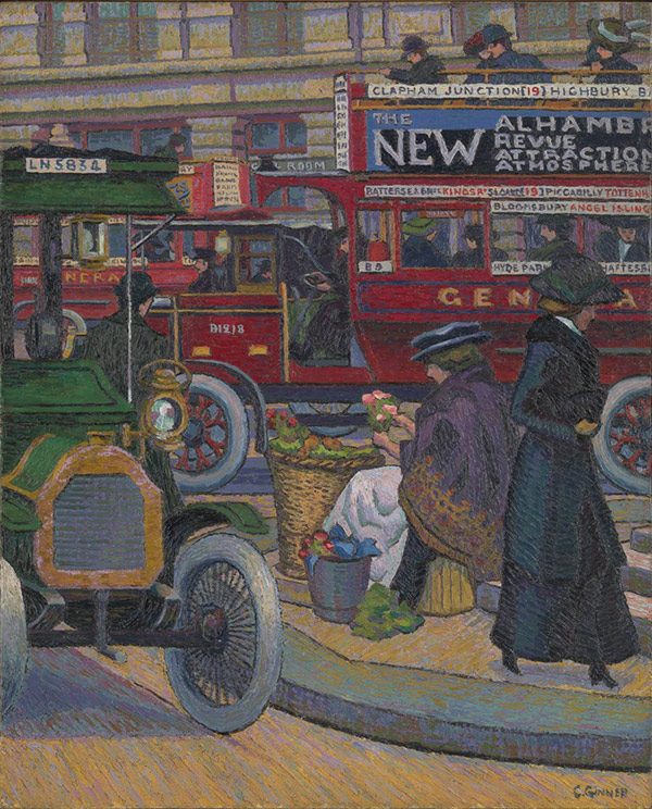Piccadilly Circus / Charles Ginner