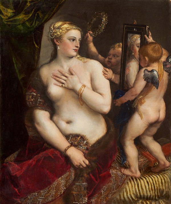 Venus with a Mirror / Titian