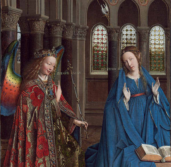 The Annunciation / Jan van Eyck