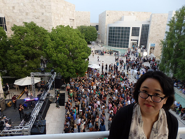 Rosie Narasaki at Saturdays Off the 405 at the Getty Center