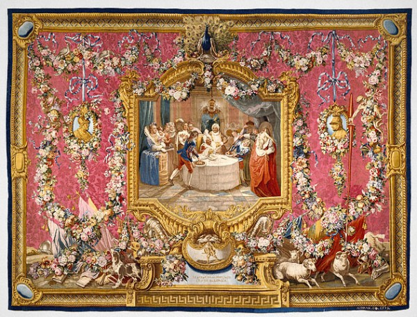 Sancho's Feast on the Isle of Barataria / Gobelins Tapestry Manufactory