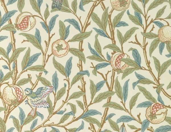 Pomegranate and Bird / William Morris