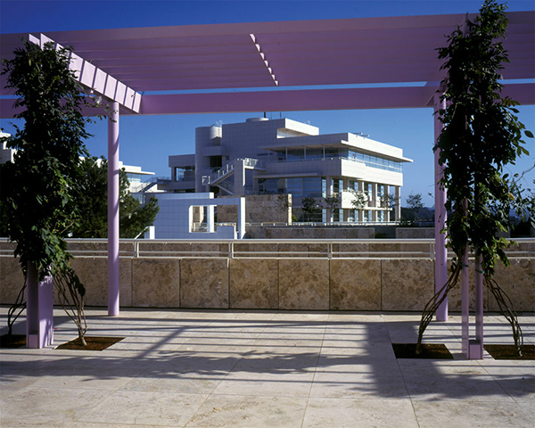 The East Building at the Getty Center