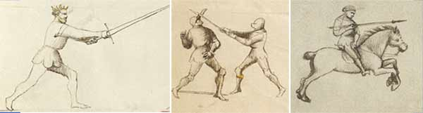 Combat with Sword, Combat with Pollaxe, and Equestrian Combat with Lance / Fiore dei Liberi, Fior di Battaglia
