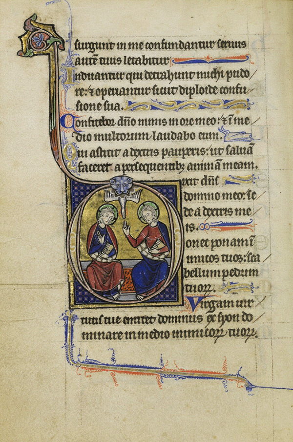 Page in the Wenceslaus Psalter