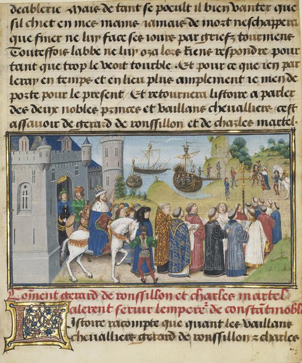 Page in Histoire de Charles Martel