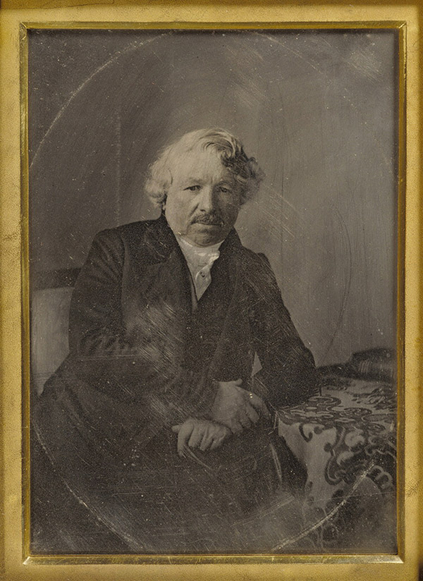 Portrait of Louis-Jacques-Mande Daguerre / Charles Richard Meade