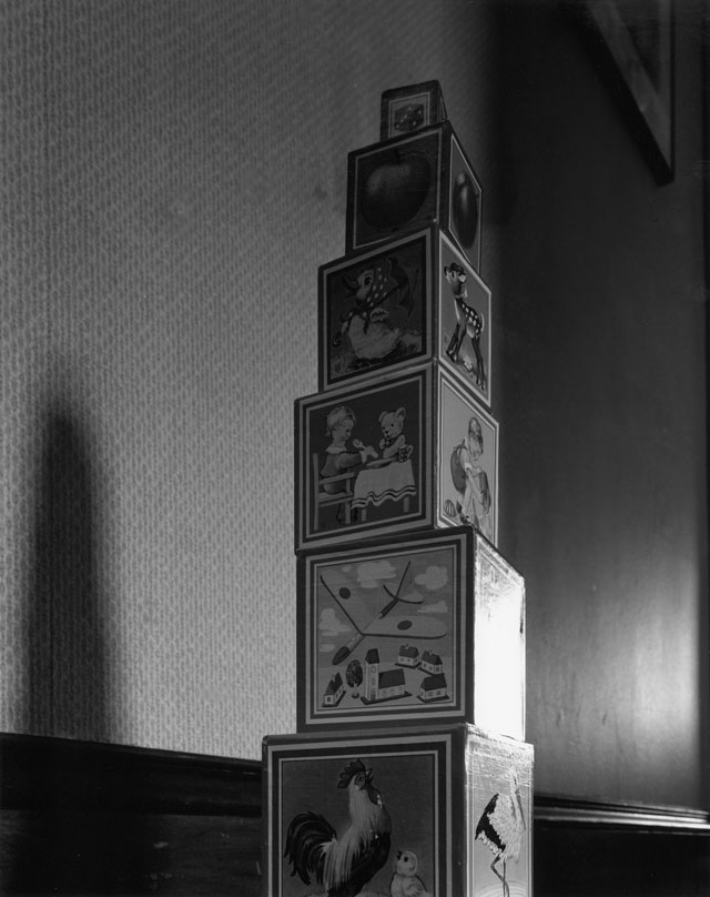 Toy Blocks / Abelardo Morell