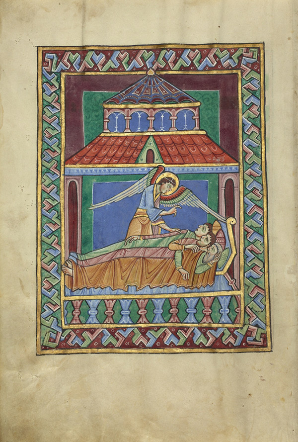 The Dream of the Magi / St. Albans Psalter