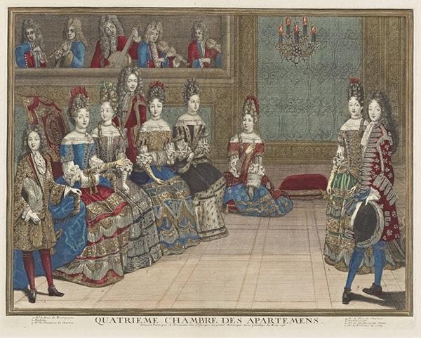 Quatrieme chambre des apartemens de Versailles / Antoine Trouvain