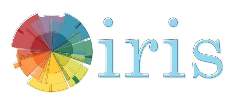 Iris and color wheel, draft 2