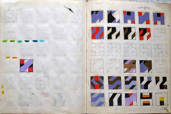 Page from Notebook 3 / Frederick Hammersley