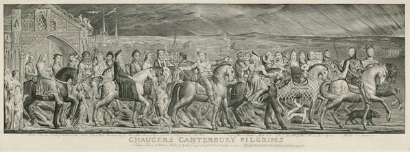 Chaucer's Canterbury Pilgrims / Blake