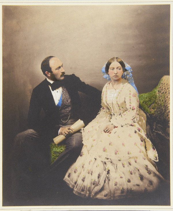 The Prince and the Queen / Roger Fenton
