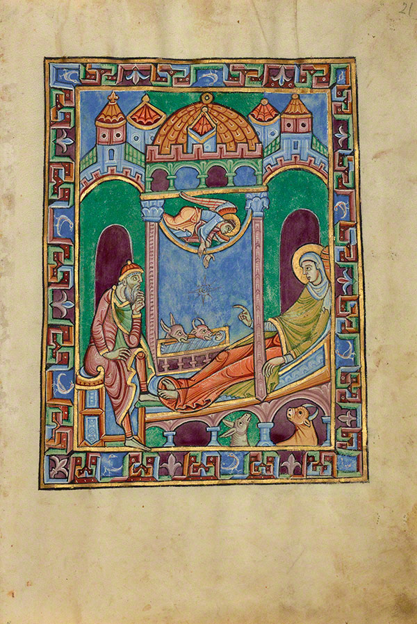 The Nativity in the St. Albans Psalter / Alexis Master
