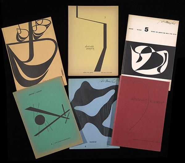 six Abstrakt-Konkret covers