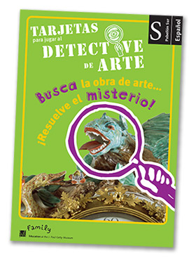 Art Detective Cards - Spanish