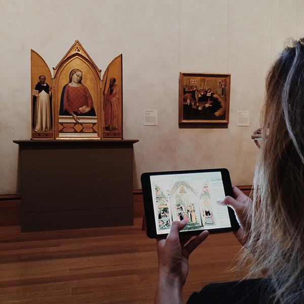Madonna, Saint Thomas Aquinas, and Saint Paul / Bernardo Daddi