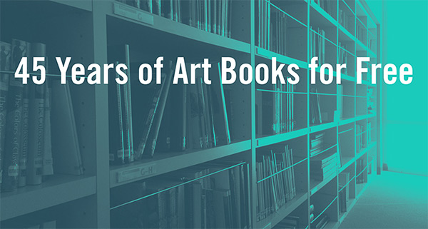 New Virtual Library Offers over 250 Art Books for Free Download