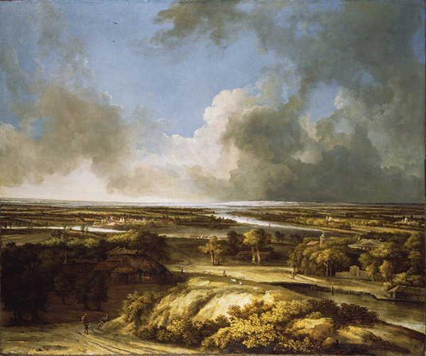 A Panoramic Landscape / Philips Koninck
