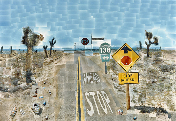 Pearblossom Hwy., 11-18th April 1986, #2 / David Hockney