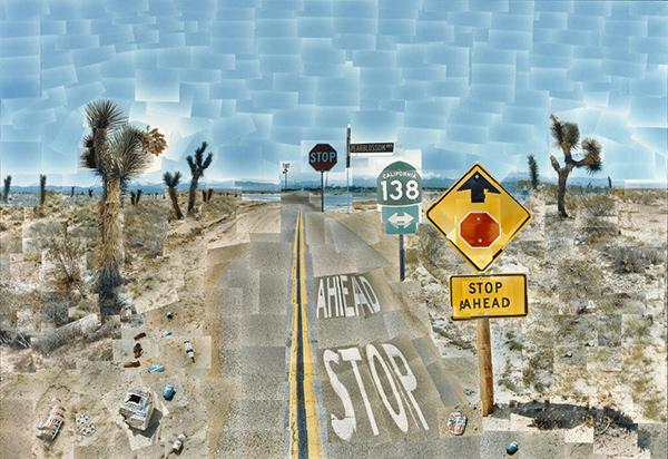 Pearblossom Hwy., 11-18th April 1986, #2 / David Hockney