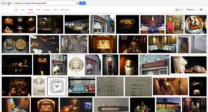 Google Image search for exhibits at the Museum of Jurassic Technology