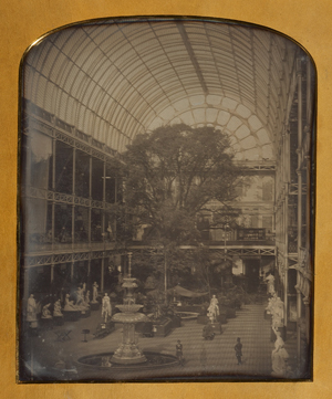 The Crystal Palace at Hyde Park, London (1851), John Jabez Edwin Mayall (British, 1810–1901), Daguerreotype, The J. Paul Getty Museum, Los Angeles