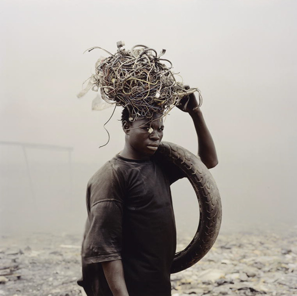 Yakubu Al Hasan, Agbogbloshie Market, Accra, Ghana from the series Permanent Error / Pieter Hugo