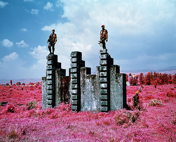 Triumph of the Will (FARDC Soldiers Demonstrate the Purpose of an Old Belgian Commando Training Structure at Rumangabo Military Base) / Richard Mosse