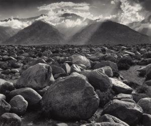 Mt. Williamson, Sierra Nevada, from Manzanar, California / Ansel Adams