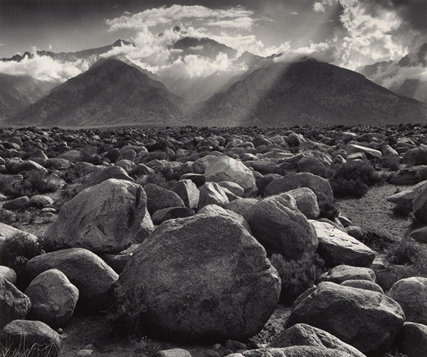 Mt. Williamson, Sierra Nevada, from Manzanar, California / Ansel Adams