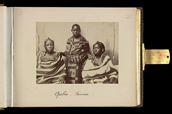 Women from Kilwa, plate 2 / Edouard Foa