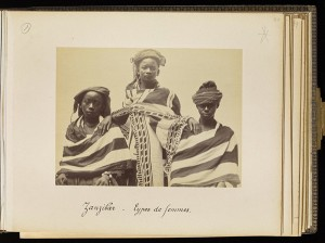 Women from Zanzibar, plate 40 / Edouard Foa