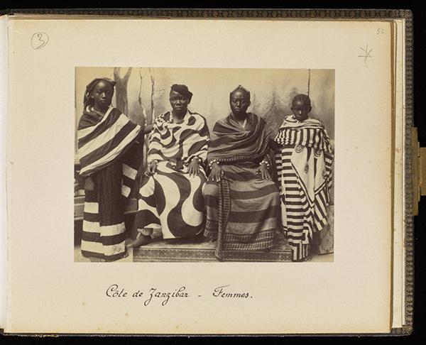Women from Zanzibar, plate 56 / Edouard Foa