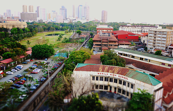 View of Manila and the walls of Intramuros. Photo: Marco Musillo