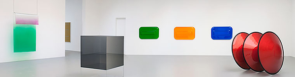 Installation view of the exhibition Primary Atmospheres, David Zwirner gallery, New York, 2010. Photo by Cathy Carver, courtesy David Zwirner, New York/London. All artwork © 2013 the artists.