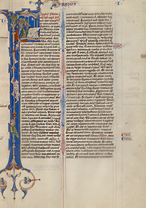 Initial F / Abbey Bible