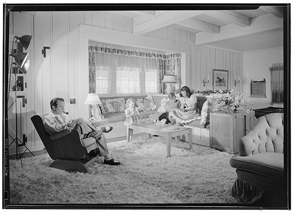 Norris and Elizabeth Goff residence, Encino, 1941