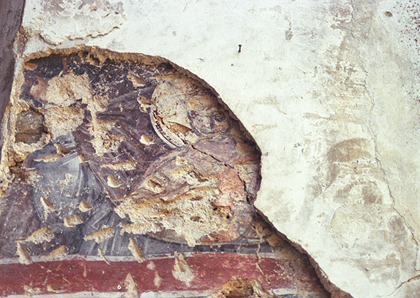 Fresco in the Church of Panagia Pantobasilissa
