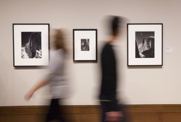 Inside In Focus: Ansel Adams. Artwork © The Ansel Adams Publishing Rights Trust