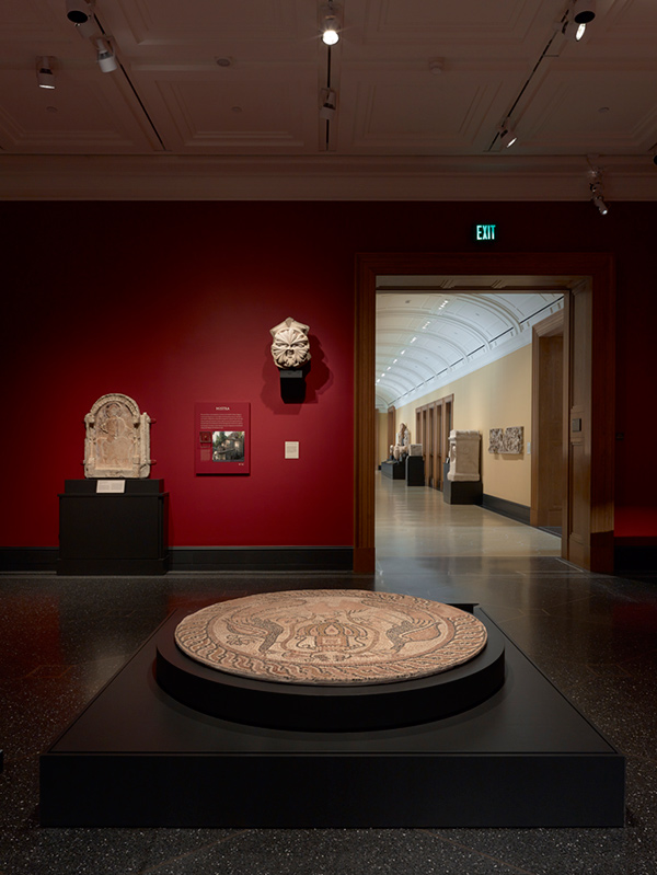 Galleries of Heaven and Earth at the Getty Villa