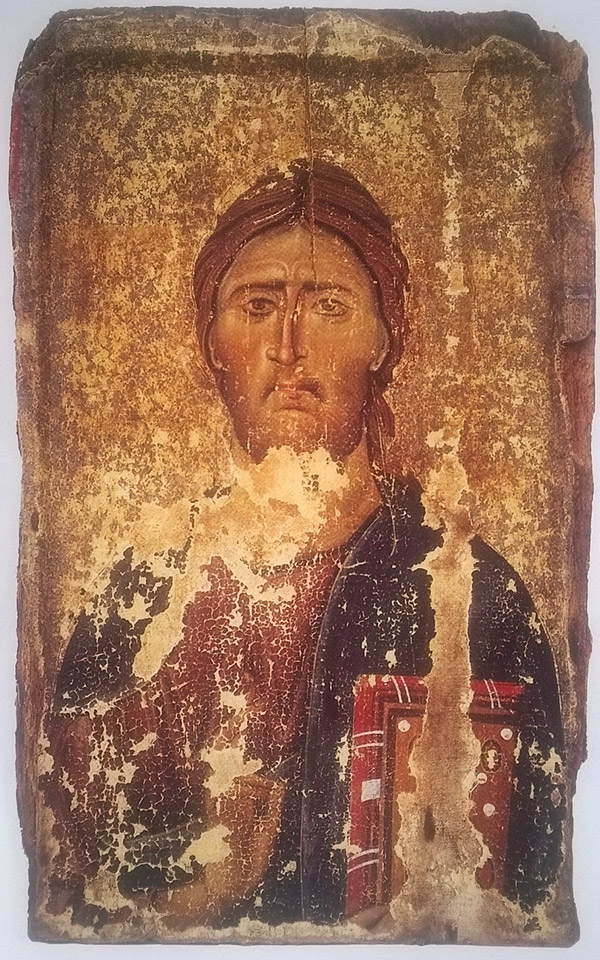Icon of Christ Pantokrator / Byzantine