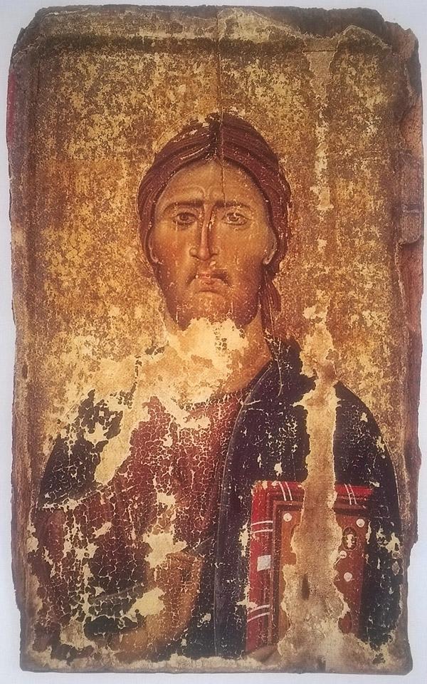 Icon of Christ Pantokrator / Byzantine
