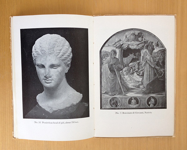 Head of a young woman from a grave naiskos / Greece, from The J. Paul Getty Museum Guidebook, second edition